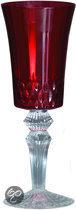 Baci Milano Chic & Vip Wijnglas - Rood  - Set van 6 stuks