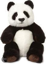 WWF Panda Zittend - Knuffel - 22 cm