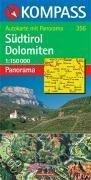 Kompass 356 Sudtirol Panorama + autokaart