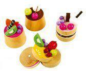 Fruit Taartjes van Hout
