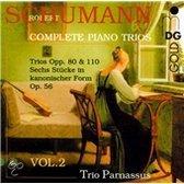Schumann: Complete Piano Trios Vol 2