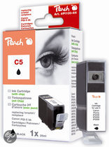 Peach C5 - Inktcartridge / Zwart