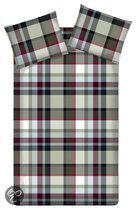 Beddinghouse Sherlock flanel dekbedovertrek - Rood - Lits-jumeaux (240x200/220 cm + 2 slopen)