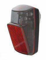 Hollandia Achterlamp voor Spatbord - Inclusief Batterij