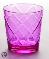 Baci Milano So Chic Waterglas - Melamine - Roze