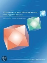 Economics and Management of Organizations