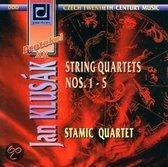 String Quartets No.1-5