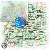 Bacher Orga-Karte Deutschland Nord 1 : 500 000. Poster-Karte beschichtet