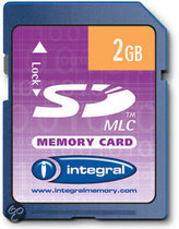 Integral SD kaart 2 GB