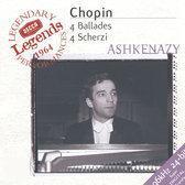 Chopin: 4 Ballades, 4 Scherzi / Vladimir Ashkenazy