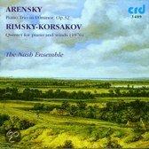 Arensky: Piano Trio in D;  Rimsky-Korsakov: Quintet