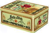 KOM Amsterdam French Classics groot blik - 26x20xH12 cm - huile d'olive