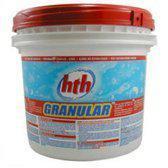 HTH chloorgranulaat - Chloorshock - 5kg - Chloor - Zwembad - Zwembadwater - Onderhoud - Shock