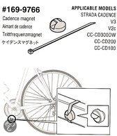 Cateye Cadans Strada - Pedaalmagneet - Incl Montagemateriaal