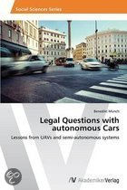 Legal Questions with Autonomous Cars