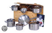 Fissler Original pro collection pannenset - 8-delig - incl. kist