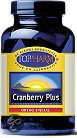 Toppharm Cranberry Plus - 60 capsules - Voedingssupplement