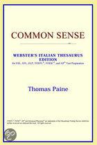 Common Sense (Webster's Italian Thesauru