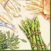 IHR Asparagus Servetten - 16.5 x 16.5 cm