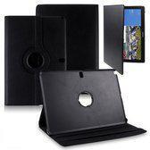 Samsung Galaxy Note / Tab Pro 12.2 inch Tablet Hoes cover 360 graden draaibaar met Multi-stand kleur Zwart