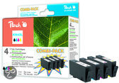 Peach H364XL - Inktcartridge Combi Pack HP 364XL - Zwart / Cyaan / Magenta / Geel