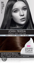 John Frieda Precision Foam Colour 5A Medium Ash Brown - Haarverf