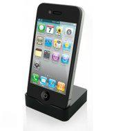 KiDiGi USB Cradle Apple iPhone 4/4S - Zwart