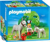 Playmobil Ezel met Veulen - 4187