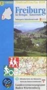 LGL BW 50 000 Freizeit Freiburg im Breisgau / Kaiserstuhl