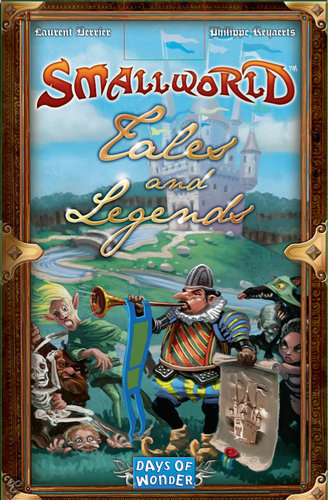Small World - ext. 3 - Verhalen & Legendes ! - Bordspel