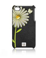 Uunique Hard Case Daisy Shell Zwart voor Apple iPhone 5/5S