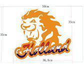 Adhesive holland leeuw oranje