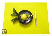 Modern Twist Studio Tide Placemat - 40 x 32 cm - Chartreuse