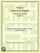 Webster's German To English Crossword Puzzles: Level 6