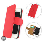 TCC Book iPhone 6 hoesje Flip/Wallet Case/Cover rood
