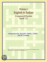 Webster's English To Italian Crossword Puzzles: Level 11