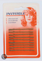 Invisible Haarschuifjes Invisible blond kort schuifspeld