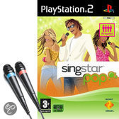 Singstar Pop & 2 Microfoons