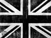 Arthouse Canvas Union Jack Silver - Zilver - 57x77 cm