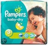 Pampers Baby luier Baby Dry Maat 3 - 180 stuks