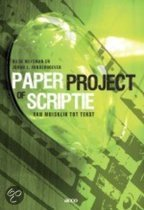 Paper, project of scriptie