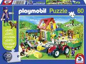 Schmidt Puzzel: Playmobil Boerderij