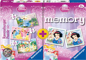 Disney Princess Puzzel + Memory