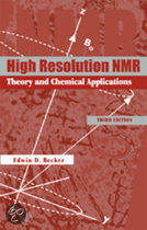 High Resolution NMR: Theory and Chemical Applications