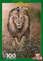 Puzzel Nico Bulder nature leeuw 1000 stukjes