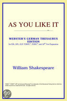As You Like It (Webster's German Thesaur