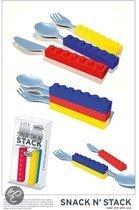Fred Snack N'stack - Stapelbare Bestekset - 3 Stuks