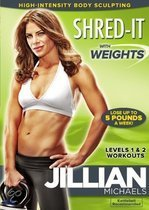 Jillian Michaels: Shred It With Weights (Import) [DVD]