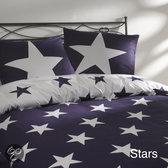 Day Dream Stars dekbedovertrek - Paars - 1-persoons (140x200/220 cm + 1 sloop)