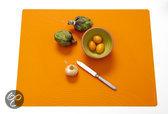 Modern Twist Studio Tide Placemat - 40 x 32 cm - Tangerine